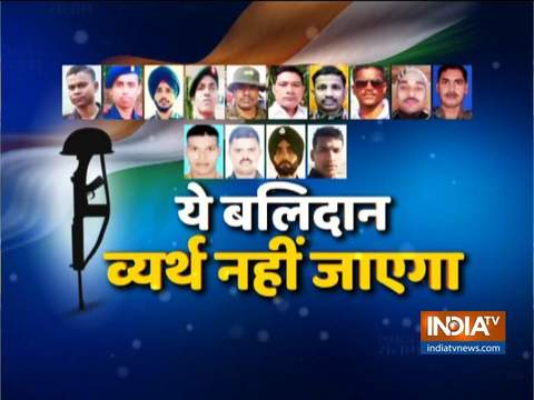 India salutes martyrs who died protecting the borders