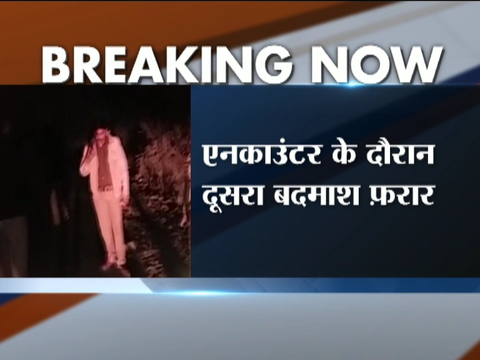 One held after encounter in Lucknow