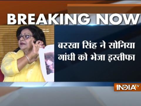 Delhi Mahila Congress Chief Barkha Singh resigns