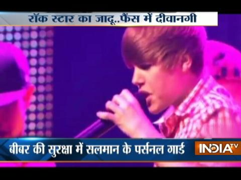 Justin Bieber Arrives In India For Concert In Mumbai