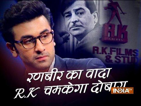 Ranbir Kapoor expresses grief over RK studio fire breakout