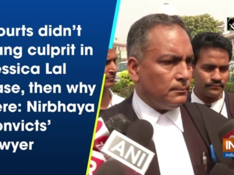 Courts didn't hang culprit in Jessica Lal case, then why here: Nirbhaya convicts' lawyer