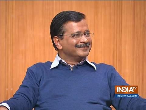 Kejriwal in Aap Ki Adalat: BJP is presenting false data on electricity