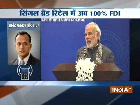 Union Cabinet approves 100% FDI in single-brand retail under automatic route