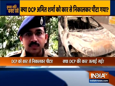 How Shahdara DCP Amit Sharma was targetted by violent mob during CAA clashes