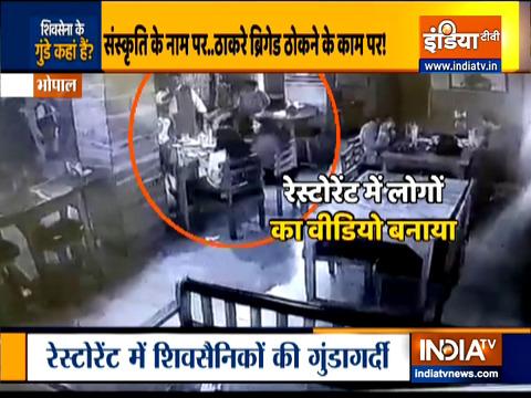 Shiv Sena activists vandalize restaurants, hookah bar on Valentine's Day in Bhopal