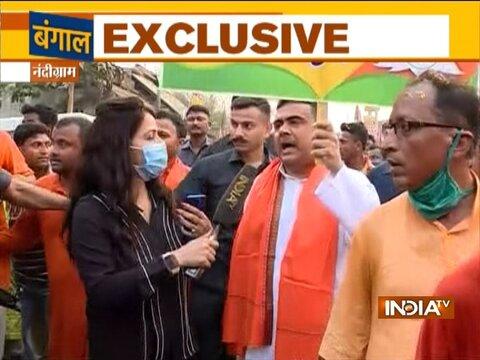 नंदीग्राम से चुनाव लड़ने की घोषणा के बाद सुवेंदु ने ममता को दी चुनौती