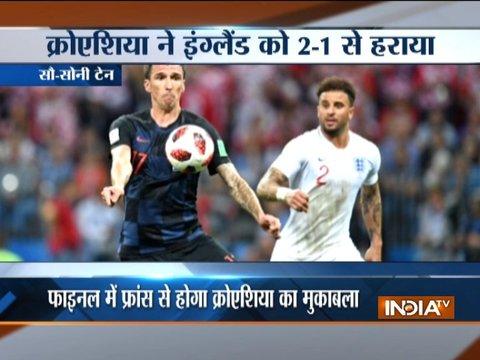 फीफा विश्व कप: इंग्लैंड को हरा क्रोएशिया पहली बार फाइनल में
