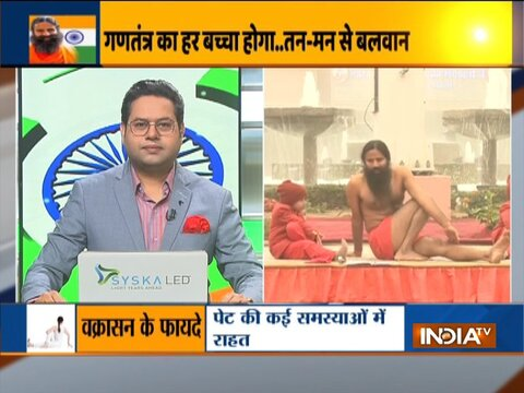 Swami Ramdev shares yogasanas that can be easily done by all