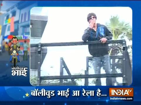 ईद के मौके पर शाहरुख खान के घर के बाहर पहुंचे फैन्स