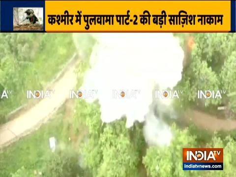 J&K: Security force difuse IED, foil Pulwama-like attack in Ayengund area