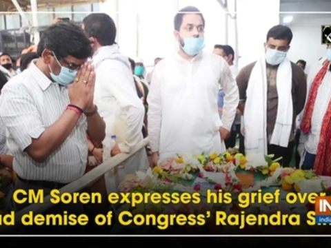 CM Soren expresses his grief over sad demise of Congress' Rajendra Singh