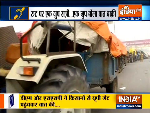 Special News: Delhi Police maps route for Republic Day tractor parade