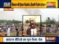 Aaj Ka Viral: Protesting farmer Tractor performing stunts on road?