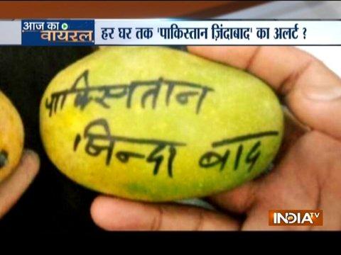 Aaj Ka Viral: The truth behind 'Pakistan Zindabad' slogan on Mangoes