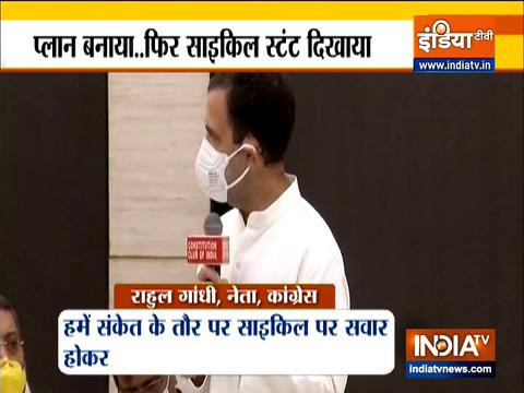 नाश्ते पर विपक्षी नेताओं के साथ राहुल गांधी की मुलाकात पर नेताओं की प्रतिक्रिया