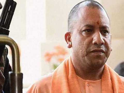 UP CM Yogi Adityanath gives a thumbs-up to Centre's relief measures for migrants