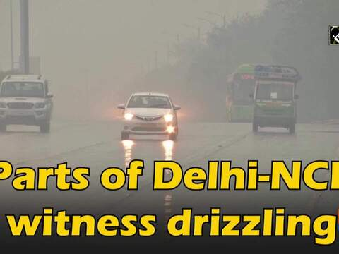 Parts of Delhi-NCR witness drizzling