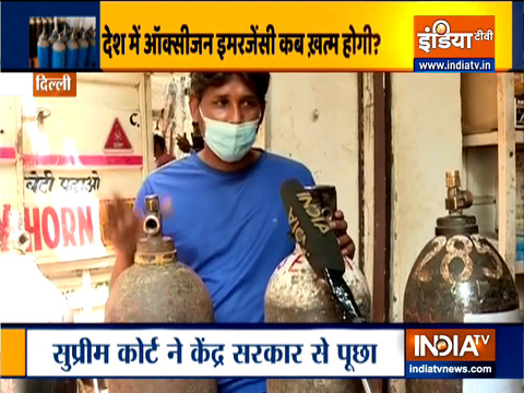 ऑक्सीजन संकट से कैसे निपट रही है दिल्ली