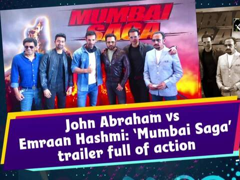 John Abraham vs Emraan Hashmi: 'Mumbai Saga' trailer full of action