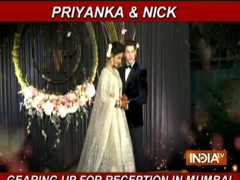 Priyanka Chopra, Nick Jonas all set for Mumbai reception