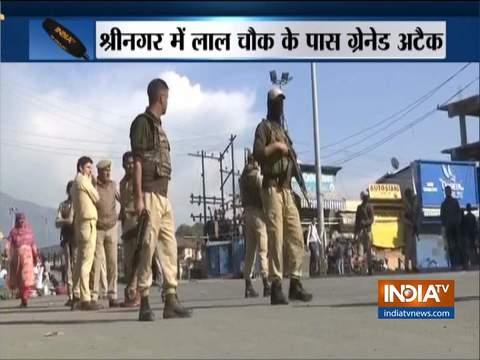 कश्मीर: श्रीनगर में ग्रेनेड अटैक, 5 लोगों के घायल होने की खबर