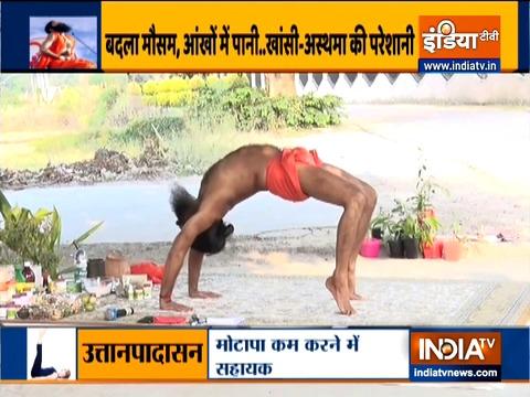 Yogasanas and pranayams to get relief from allergies by Swami Ramdev