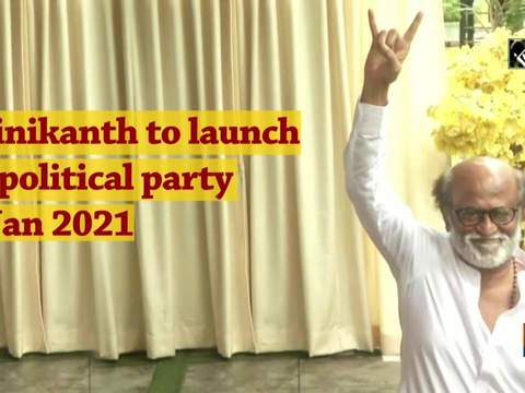 Rajinikanth to launch his political party in Jan 2021