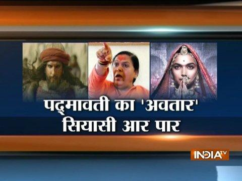 Padmavati Row: Union Minister Uma Bharti Offers A Suggestion