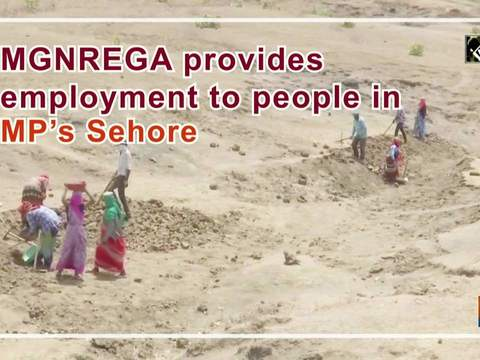 MGNREGA provides employment to people in MP's Sehore