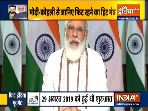 PM Modi interacts with fitness & sports enthusiasts on Fit India Movement 2020
