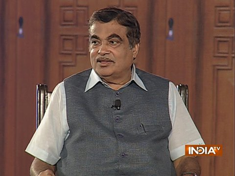 Union Minister Nitin Gadkari in Aap Ki Adalat (Full Episode)