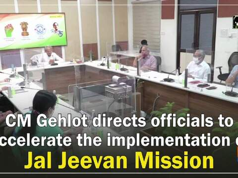 CM Gehlot directs officials to accelerate the implementation of Jal Jeevan Mission