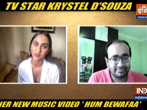 Krystel D'Souza shares details about new music video 'Hum Bewafaa'