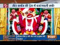 Hanuman dressed up as Santa Clause, temple priest comes up with a clarification