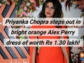Priyanka Chopra turns heads in Rs 1.30 lakh Alex Perry dress
