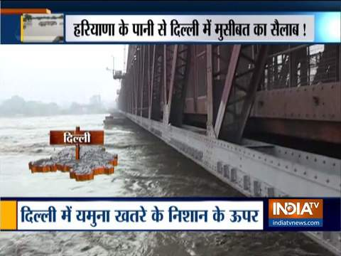 दिल्ली में खतरे के निशान से 0.61 मीटर ऊपर यमुना