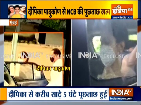 Deepika Padukone leaves from NCB office after almost five hours