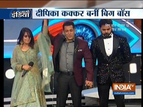 Dipika Kakar is Bigg Boss 12 winner, takes home Rs 30 Lakh as prize money
