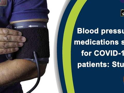 Blood pressure medications safe for COVID-19 patients: Study