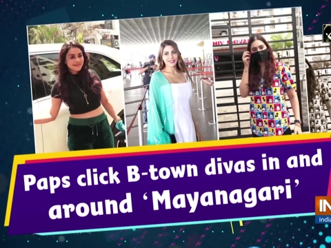 Paps click B-town divas in and around 'Mayanagari'