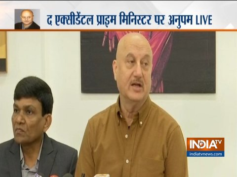 The Accidental Prime Minister: I would urge Manmohan ji to watch this movie, says Anupam Kher