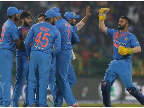 Nidahas Trophy, 4th T20I: Manish Pandey, Dinesh Karthik help India beat Sri Lanka