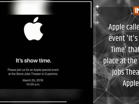 Apple 'Its Show Time' Event Highlights
