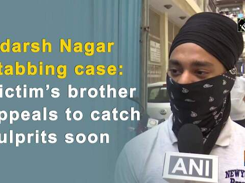 Adarsh Nagar stabbing case: Victim's brother appeals to catch culprits soon