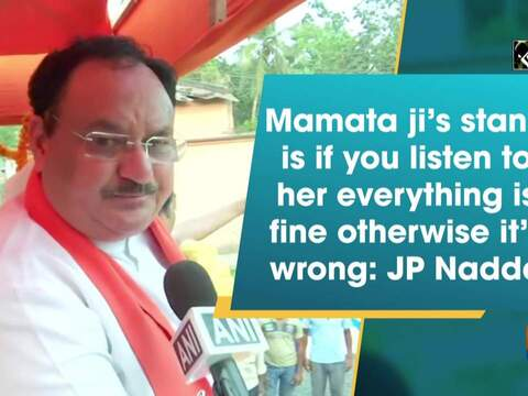 Mamata Banerjee looks everything through glasses of politics: JP Nadda over her Cooch Behar visit