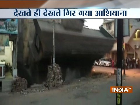 MP: Building collapses within 5 seconds in Shajapur