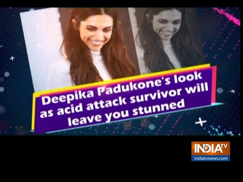 Deepika Padukone's look as acid attack survivor will leave you stunned