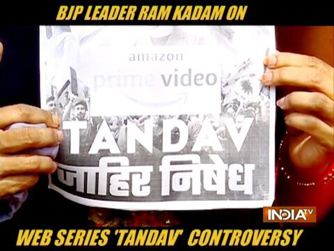 Tandav Controversy: Saif Ali Khan needs to clarify his position, says BJP MLA Ram Kadam