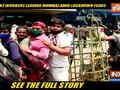 Coronavirus | Migrant workers spotted leaving Mumbai amid fear of lockdown